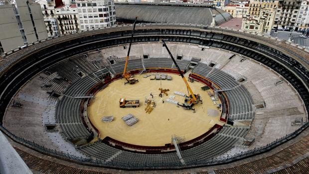 La plaza de toros de Valencia será la sede de los cuartos de la Davis