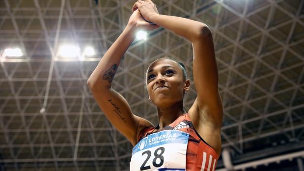 Ana Peleteiro, en los campeonatos de España
