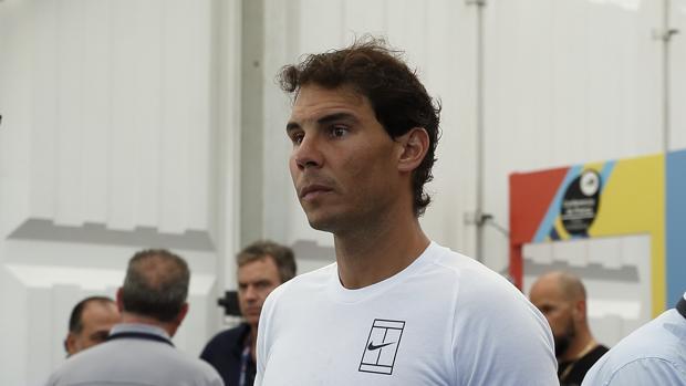 Rafael Nadal, el pasado martes en Acapulco
