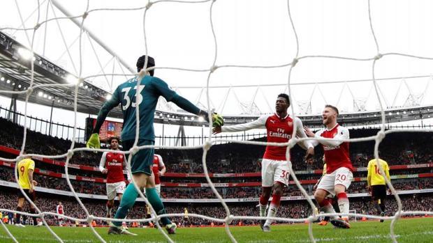 Imagen de la victoria por 3-0 de los de Wegner