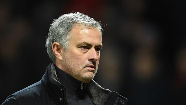 José Mourinho durante el partido contra el Sevilla