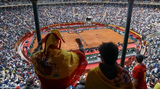 La plaza de toros de Valencia se llenó para la serie entre España y Alemania