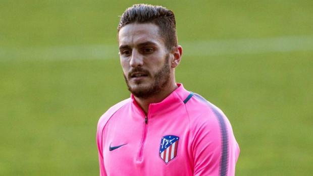 Koke, centrocampista del Atlético de Madrid