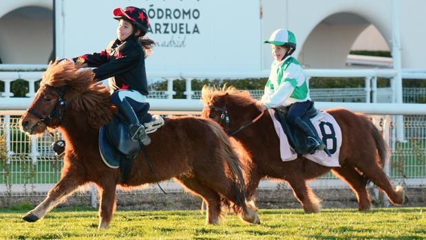 Entrenamientos en el Hipódromo de la Zarzuela