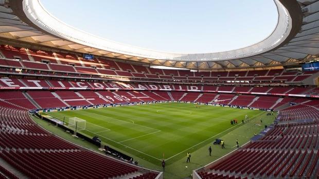 Estadio Wanda Metropolitano, escenario de la final de la Copa entre Sevilla y Barcelona