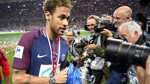 Neymar, tras la conquista de la Copa de Francia por el PSG