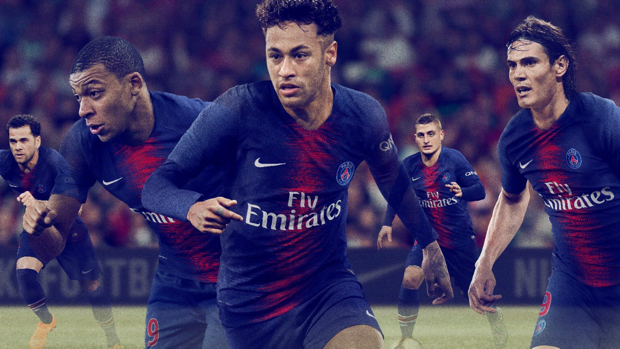 Neymar, protagonista de la campaña del PSG anunciando la camiseta de la siguiente temporada
