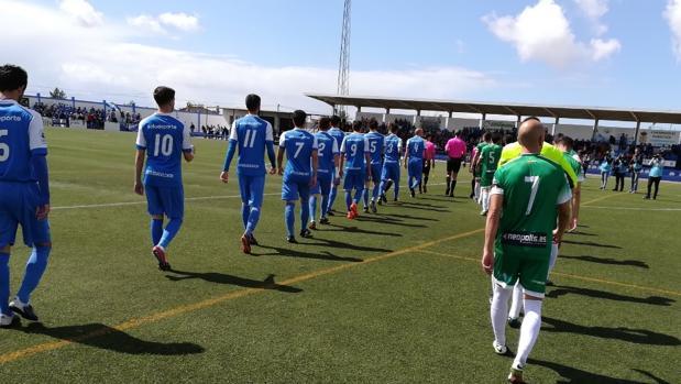 Partido de Tercera entre el Guadalcacín y el Xerez CD, club del jugador detenido