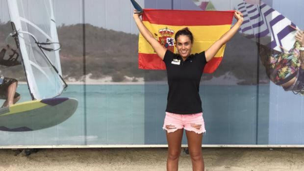 Blanca Manchón, campeona del mundo de Raceboard.
