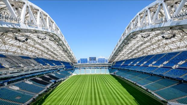 Imagen del estadio Fisht del Mundial de Rusia 2018