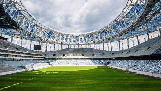 Nizhni-Nóvgorod, estadio del Mundial de Rusia 2018