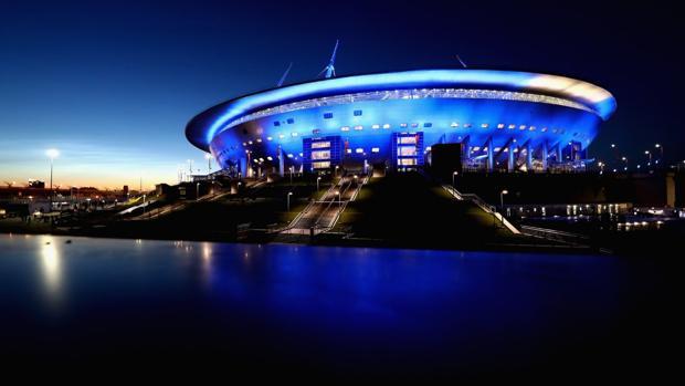 Estadio de San Petersburgo, sede del Mundial 2018 de Rusia