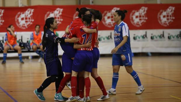 El Atlético Futsi Navalcarnero, con la gaditana Amelia Romero al frente, ya está en las semifinales