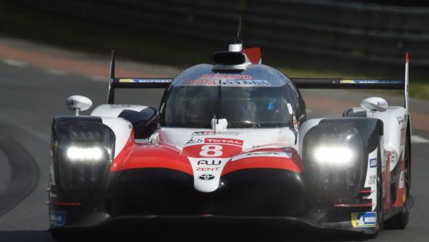 El Toyota TS050 Hybrid del equipo de Fernando Alonso ha sido el más rápido en la primera sesión