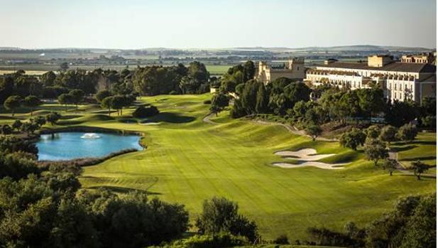 El campo de golf del hotel Montecastillo, en Jerez.