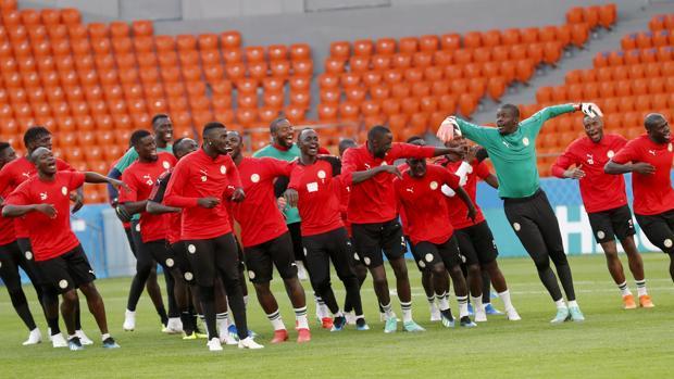 Senegal, en pleno calentamiento