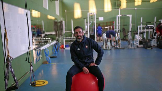 Pepe Conde ha trabajado este año en el Osasuna.