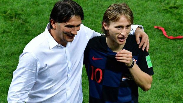 Dalic, con Modric