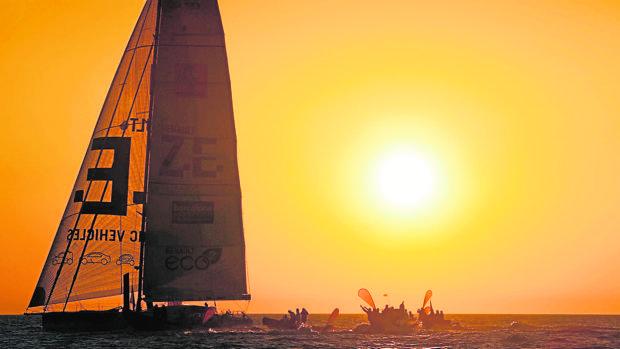 La World Race de vela se lleva haciendo años anteriores en la ciudad de Barcelona