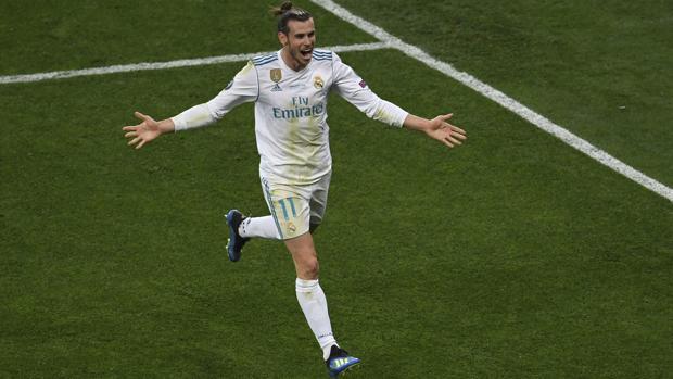 Gareth Bale, goleador en la última final de Champions