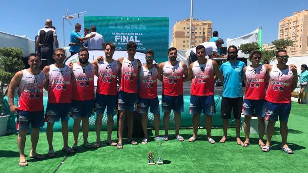 Campeones del Trofeo Carranza de Balonmano Playa