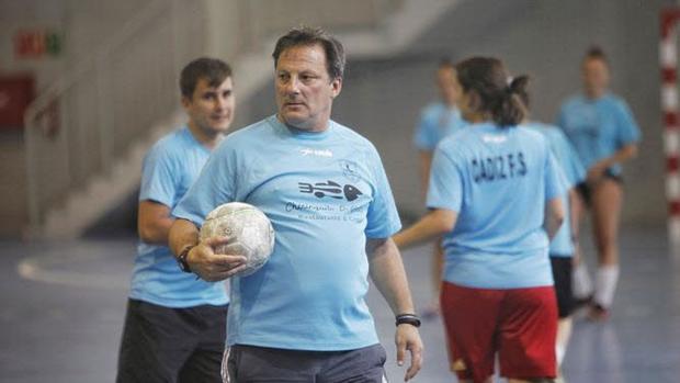 Kiko Oliva exentrenador del Cádiz Futbol Sala Femenino