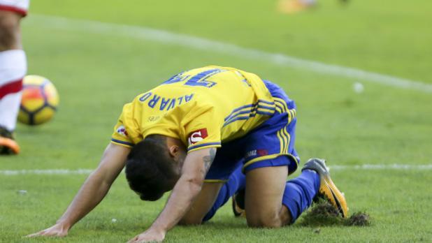 Álvaro García durante la pasada temporada.