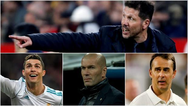 Simeone contra un nuevo Real Madrid: sin Cristiano ni Zidane, pero con Lopetegui