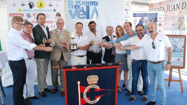 La presentación tuvo lugar en el portuense Real Club Náutico.