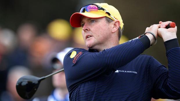 Jarrod Lyle durante un campeonato PGA en 2016