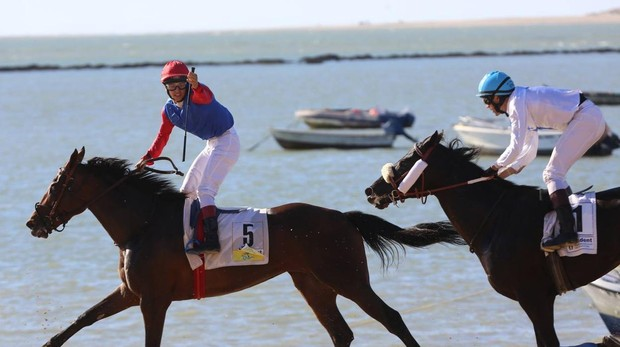 Fin al Primer Ciclo de la 173ª edición de las Carreras de Caballos de Sanlúcar de Barrameda.