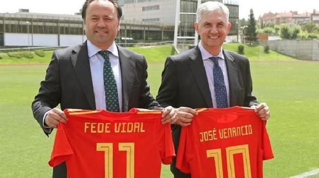 Fede Vidal es el nuevo seleccionador nacional y José Venancio López asume la dirección deportiva.