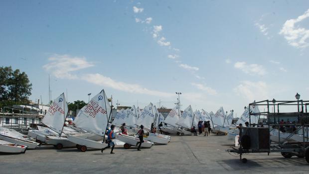Instalaciones del Club Naútico de El Puerto