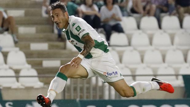 José Ángel Carrillo, delantero del Córdoba CF