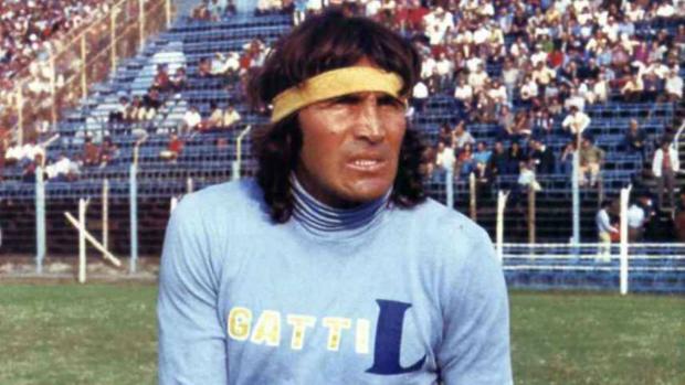 Hugo Gatti, durante su etapa en Boca Juniors