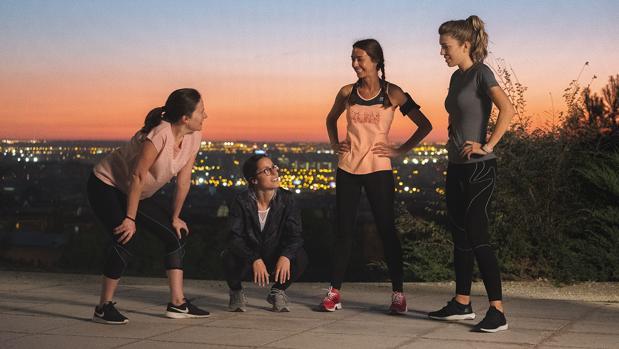 «Sincronizadas», una plataforma de unión para mujeres corredoras