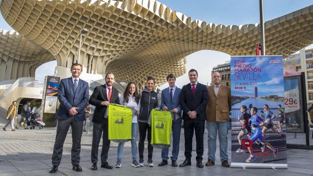 Presentación de la XIV edición del EDP Medio Maratón
