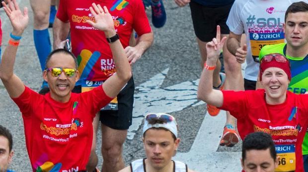 City Sightseeing Running Team, un equipo solidario en el Zurich Maratón de Sevilla