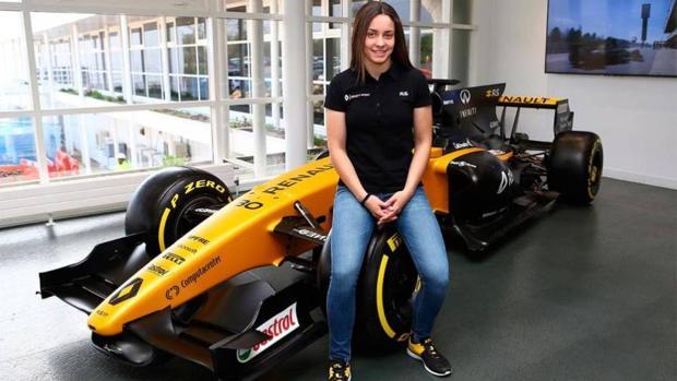 Marta García, expiloto de Renault