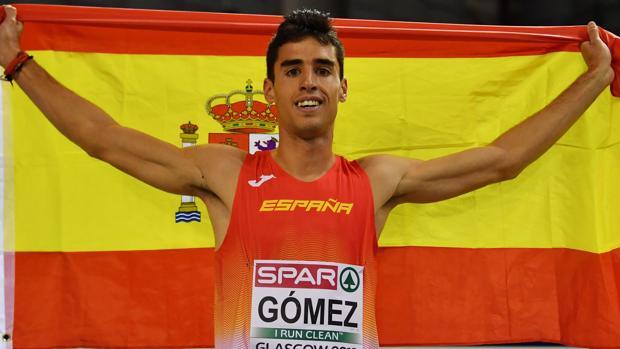 Jesús Gómez, bicampeón de España y bronce europeo en 1.5000