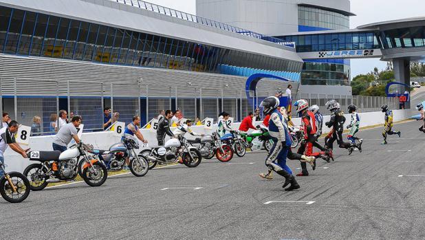 Imagen del Campeonato de España de Velocidad.
