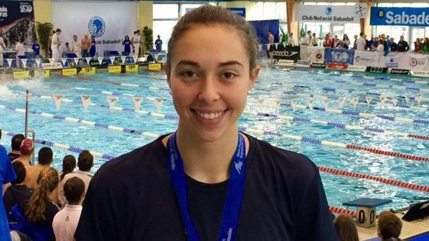La nadadora gaditana Paloma de Bordons.