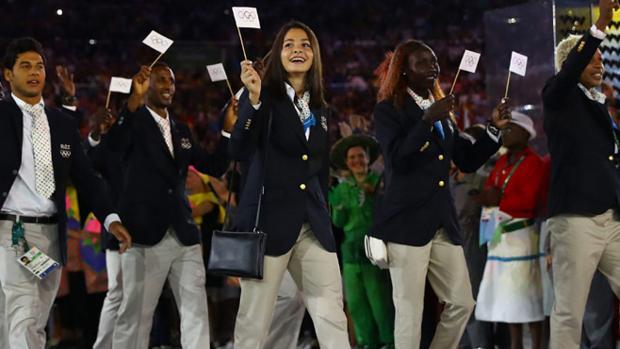 Su sueño de ser olímpica llegó en Río, con el equipo de refugiados