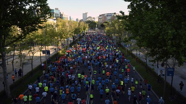 El maratón de Madrid 2019