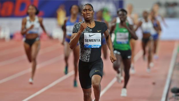 Semenya dejó atrás a todas sus rivales
