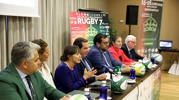 Presentación de la Copa de la Reina 'Iberdrola' de Rugby Femenino en el Hotel Barceló Montecastillo