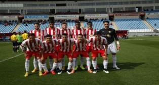 El Almería B ocupa plaza de 'play off' de ascenso a Segunda