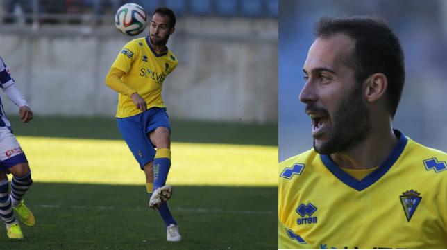 Andrés Sánchez, lateral izquierdo del Cádiz CF