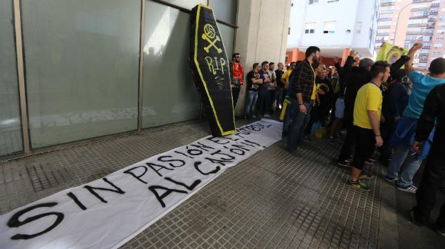 Brigadas Amarillas se ha manifestado en Carranza.