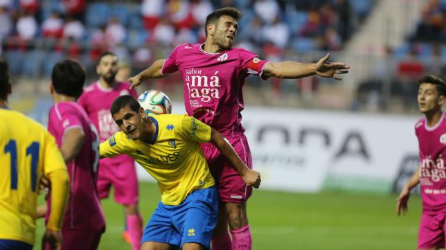 Garrido, un baluarte del Cádiz CF en el centro del campo